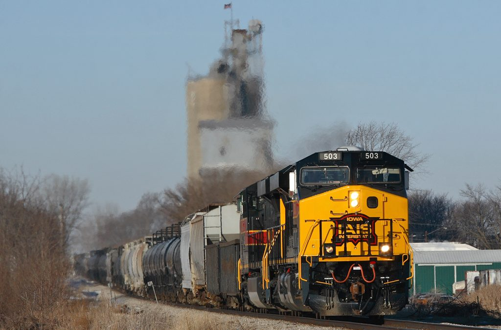 Iowa Interstate Railroad Equips Entire Locomotive Fleet with Streaming Event Recorder